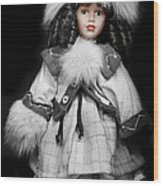 Hello Dollie Doll Wood Print