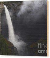 Helmcken Falls 1 Wood Print