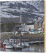 Helmsdale Harbour - Sutherland Wood Print