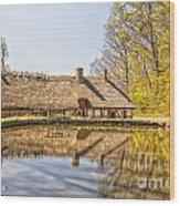 Helsingborg Cottage Millhouse Wood Print