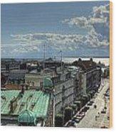 Helsingborg Hdr Pano Wood Print