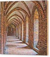 Helsingor Monastery Painting Wood Print