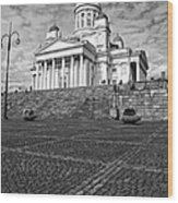 Helsinki Cathedral Wood Print