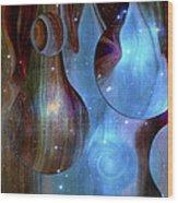 Hemispheres Wood Print