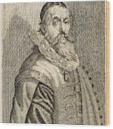 Hendrik Goltzius  Dutch Engraver Wood Print