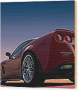 Hennessey Red Wood Print