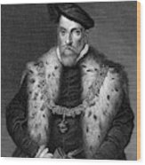 Henry Fitzalan, 12th Earl  Of Arundel Wood Print