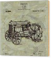 Henry Ford Tractor Patent Wood Print
