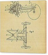 Henry Ford Transmission Mechanism Patent Art 1911 Wood Print
