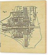 Henry Ford Transmission Mechanism Patent Art  2 1911 Wood Print