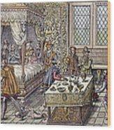 Henry II Of France, 1559 Wood Print