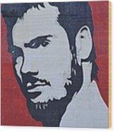Henry Rollins Wood Print