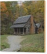 Henry Whitehead Place Cades Cove Gsmnp Wood Print