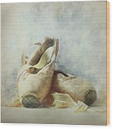 Her Life, Her World....her Shoes Wood Print