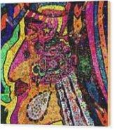 Her Majesty - Female Heroine   Wood Print