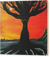 Her Roots Run Deep Wood Print
