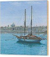 Hera 2 Valletta Malta Wood Print