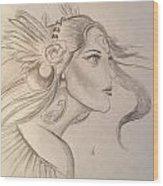 Hera Wood Print