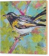 Herald Of Spring Wood Print