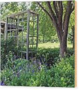 Herb Garden0981 Wood Print