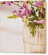 Herb Robert Posy Wood Print