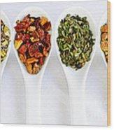Herbal Teas Wood Print