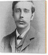 Herbert George Wells (1866-1946) Wood Print