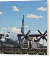 Hercules C--130 Wood Print
