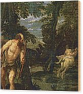 Hercules Deianira And The Centaur Nessus Wood Print