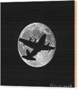 Hercules Moon Vertical Wood Print