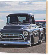 Here Come The Hot Rod Boys Wood Print