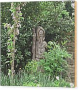 Hereford Cathedral Garden Wood Print