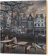 Kaizersgracht 451. Amsterdam. Holland Wood Print