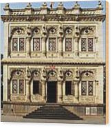 Heritage Building Wood Print