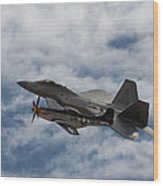 Heritage Flight Wood Print