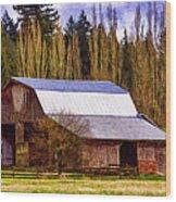 Heritage Remembered Wood Print