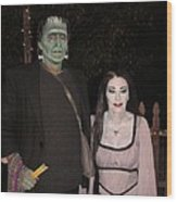Herman And Lilly Munster Wood Print