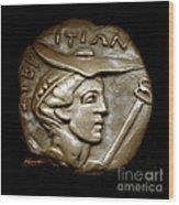 Hermes 2 Wood Print by Patricia Howitt