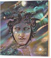 Hermes Wood Print by Ursula Freer