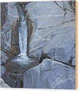 Hermit Falls Wood Print by Viktor Savchenko