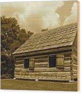 Hermitage Farmhouse 2 Wood Print