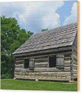 Hermitage Farmhouse Wood Print