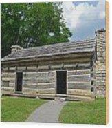 Hermitage Slave Quarters Wood Print