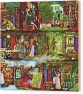 Heroes And Heroines Wood Print