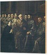 Herrera, Francisco De, Called The Elder Wood Print