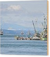 Herring Fleets Qualicum Beach Wood Print