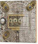 Herring Hall Marvin Co. Bank Vault Door Lock Wood Print