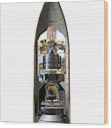 Herschel And Planck Launch Configuration Wood Print