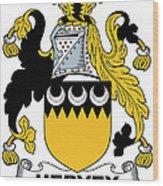 Hervey Coat Of Arms Irish Wood Print