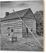 Hetchler House Farmstead Wood Print